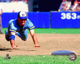 Paul Molitor 1985 Action Photo
