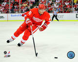 Marian Hossa 2008-09 Playoff Action Photo