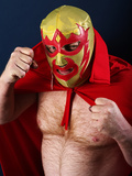 Luchador Portrait Reproduction photographique par  sumnersgraphicsinc