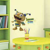 Henry Hugglemonster Peel and Stick Giant Wall Decals Wall Decal