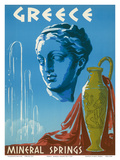 Greece - Mineral Springs Spa Posters