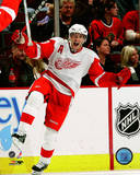 Pavel Datsyuk 2008-09 Action Photo