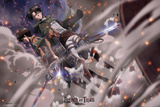 Attack On Titan - Battle Plakát