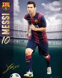 Barcelona Messi 14/15 Kunstdrucke