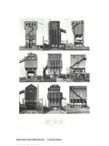Coal Bunkers Collectable Print by Bernhard And Hilla Becher