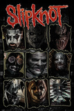 Slipknot - Faces Kunstdruck