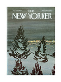 The New Yorker Cover - January 25, 1969 Regular Giclee Print by David Preston
