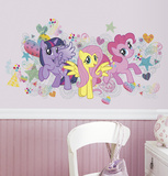 My Little Pony Wall Graphix Peel and Stick Giant Wall Decals Wall Decal