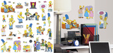 The Simpsons Peel and Stick Wall Decals Wall Decal
