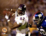 Shannon Sharpe Super Bowl XXXV Action Photo