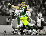 Clay Matthews 2014 Spotlight Action Photo