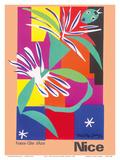 Nice, France - Côte d'Azur Plakater av Henri Matisse