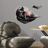 Batman Arkham City Darkness Wall Graphix Peel and Stick Giant Wall Decals Wall Decal