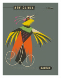 New Guinea - Raggiana Bird of Paradise Impression giclée par Harry Rogers