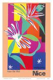 Nice, France - Côte d'Azur Kunst av Henri Matisse