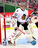 Corey Crawford 2015 NHL Winter Classic Action Photo