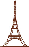Paris Eiffel Tower Lifesize Standup Cardboard Cutouts