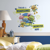 Henry Hugglemonster Family Wall Graphix Peel and Stick Giant Wall Decals Wall Decal