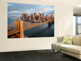 Brooklyn Bridge at Sunrise Wallpaper Mural Wallpaper Mural