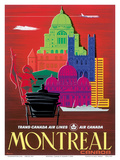 Montreal, Canada Posters by  Egmond