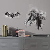 Batman Arkham Knight Darkness Wall Graphix Peel and Stick Giant Wall Decals Wall Decal