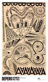 Luna Park,Esplosione Tipografica (Montagne Russe a Coney Island) Posters by Fortunato Depero