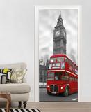 London Big Ben Door Wallpaper Mural - Duvar Resimleri