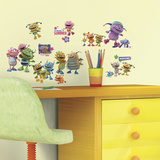 Henry Hugglemonster Peel and Stick Wall Decals Wall Decal