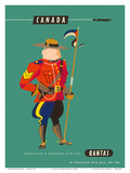 Canada - Royal Canadian Mounted Police Posters by Harry Rogers