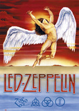 Led Zeppelin - Swan Song Plakaty