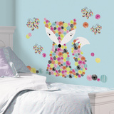 Prismatic Fox Peel and Stick Giant Wall Decals Adhésif mural