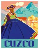 Cuzco, Peru - Machu Picchu Lámina giclée por Agostinelli