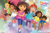 Dora & Friends - Running Posters