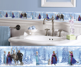 Frozen Peel and Stick Border Wall Decal