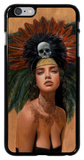 Feathers and Skulls iPhone 6 Plus Case by Charmaine Olivia