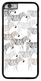 Zebra Pattern iPhone 6 Case by  Avalisa