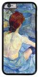 Rousse the Toilet iPhone 6 Case por Henri de Toulouse-Lautrec