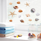 Seashells (Window Decal) Decalque de janela