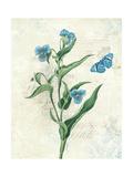 Booked Blue I Crop Plakater av Katie Pertiet