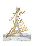 Gilded Paris Poster von Moira Hershey