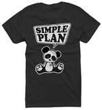 Juniors: Simple Plan - Panda - T-shirt