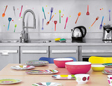 Hanging Cutlery Wall Decal Wall Decal