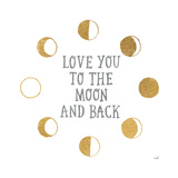 To the Moon Prints by Moira Hershey