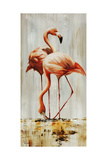 Flamingo V Giclee Print by Sydney Edmunds