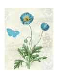 Booked Blue IV Crop Poster av Katie Pertiet