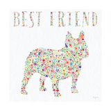 French Bulldog - Best Friend Sq v2 Posters by Carly Rae