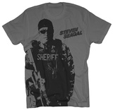 Steven Seagal - Sheriff 2 T-shirts