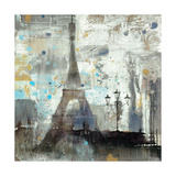 Eiffel Tower Neutral Poster by Albena Hristova