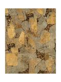 Gilded Stone Gold II Print by Hugo Wild