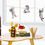 Baby Cats (Window Decal) Window Decal